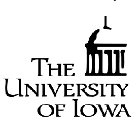 University of Iowa (UI), Iowa City, Iowa, USA